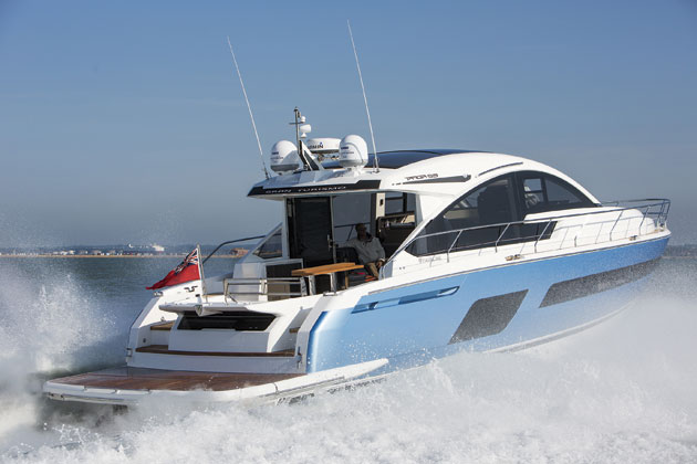 Luxury News Online To Sea Trial The Fairline Yachts 53GT In Italy