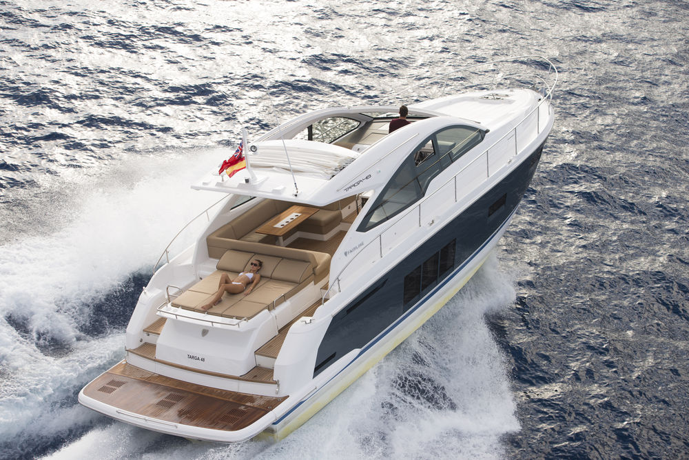 See The World Debut Of Fairline's Hardtop Squadron 65 At Cannes Yachting Festival 2016