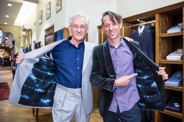 Ed Ruscha's Art Of Tailoring With Huntsman