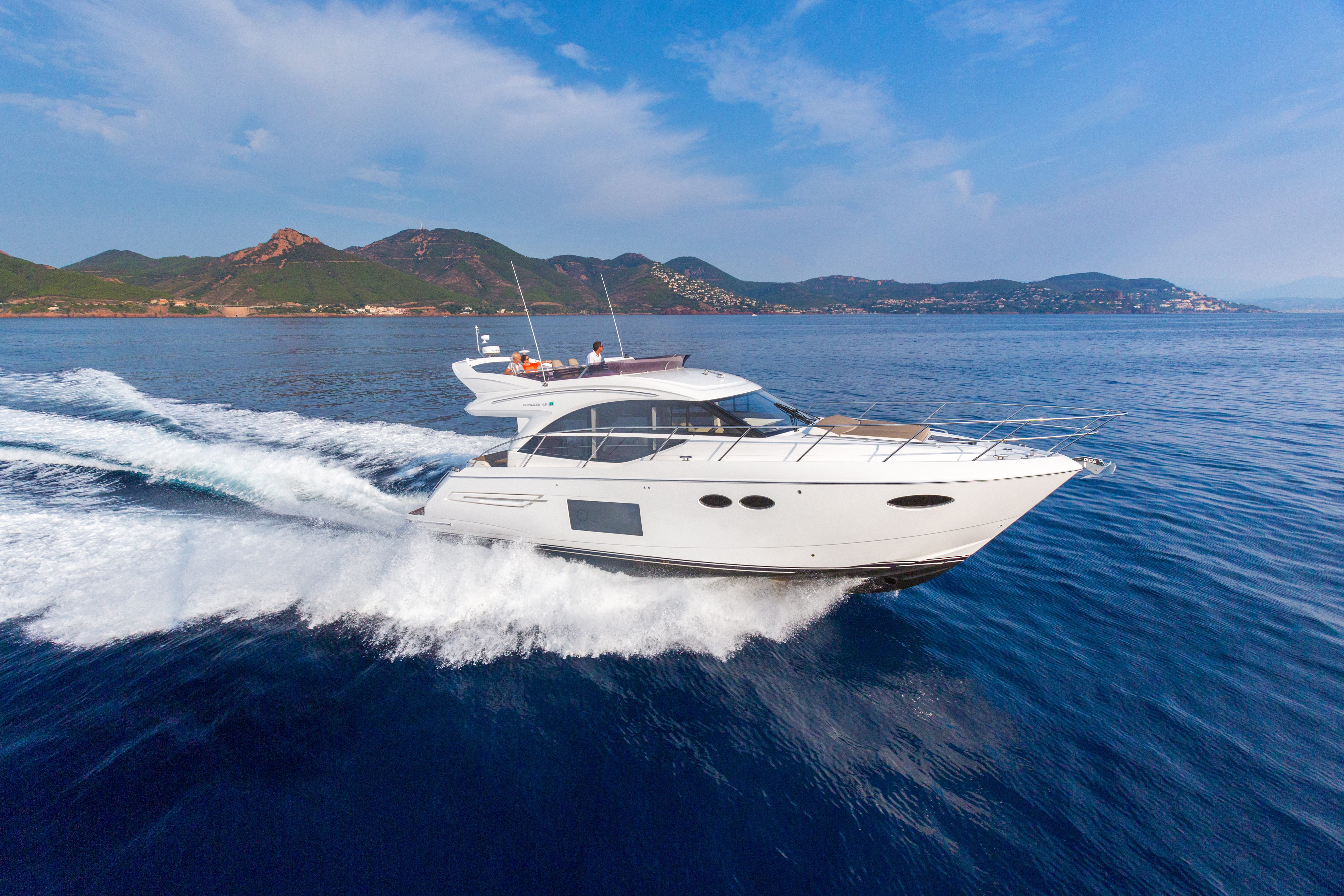 INTRODUCING THE SPACIOUS NEW PRINCESS 49
