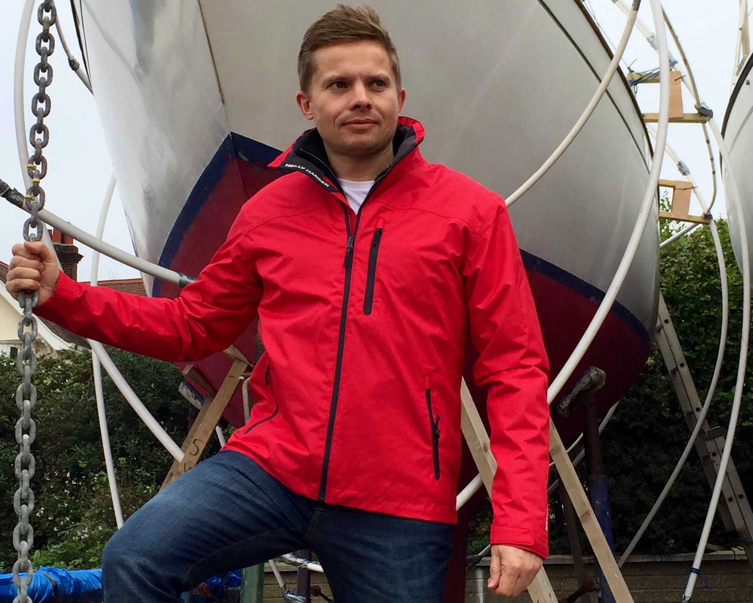Helly Hansen Crew Jacket For Those Superyacht Sundays