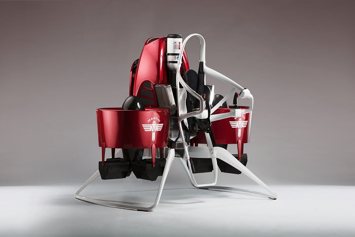 The Martin Jetpack: The Ultimate In Personal Transporation