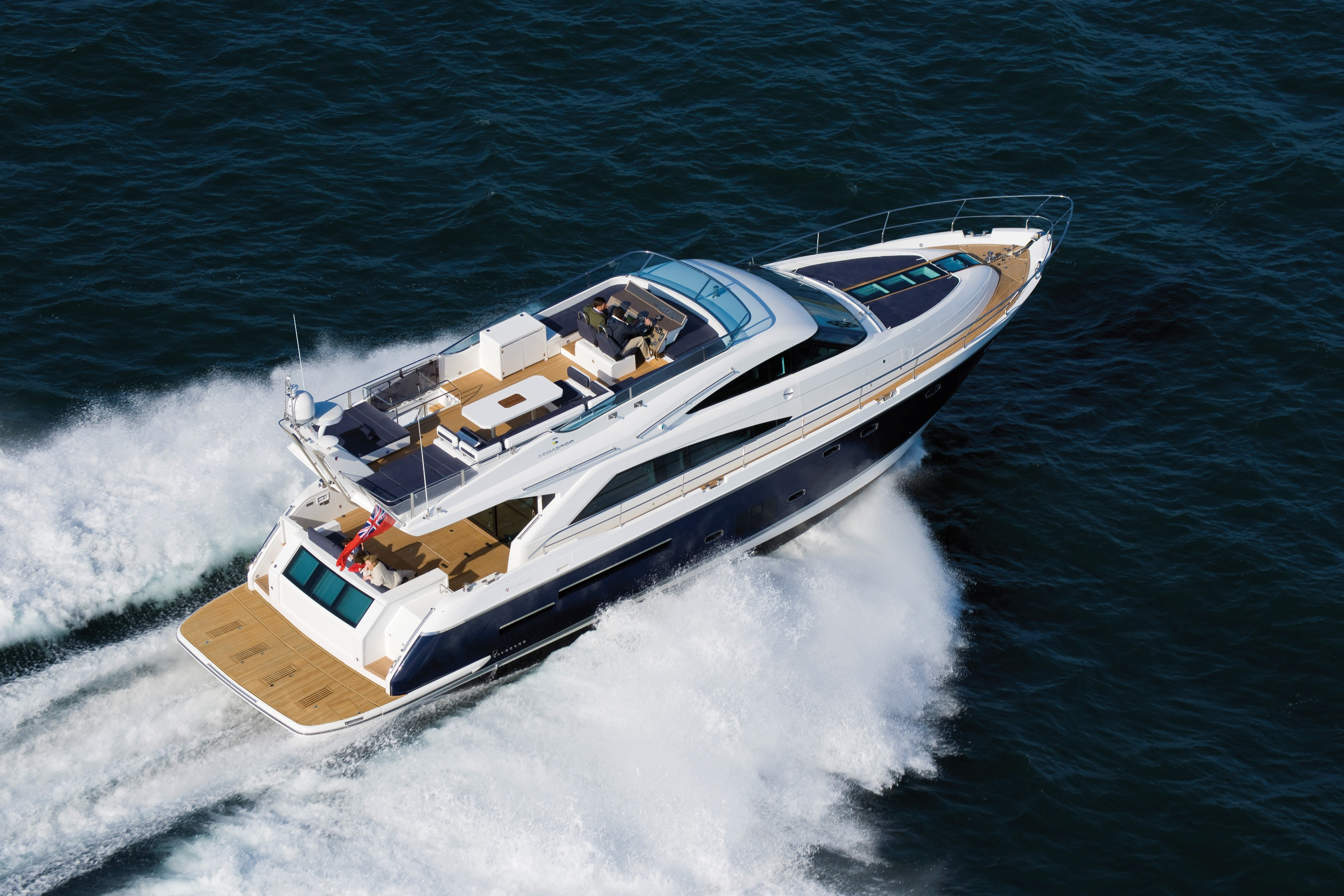 Fairline Yachts Announces New Partnership With Italian Yacht Designer Alberto Mancini And Dutch Naval Engineers Vripack