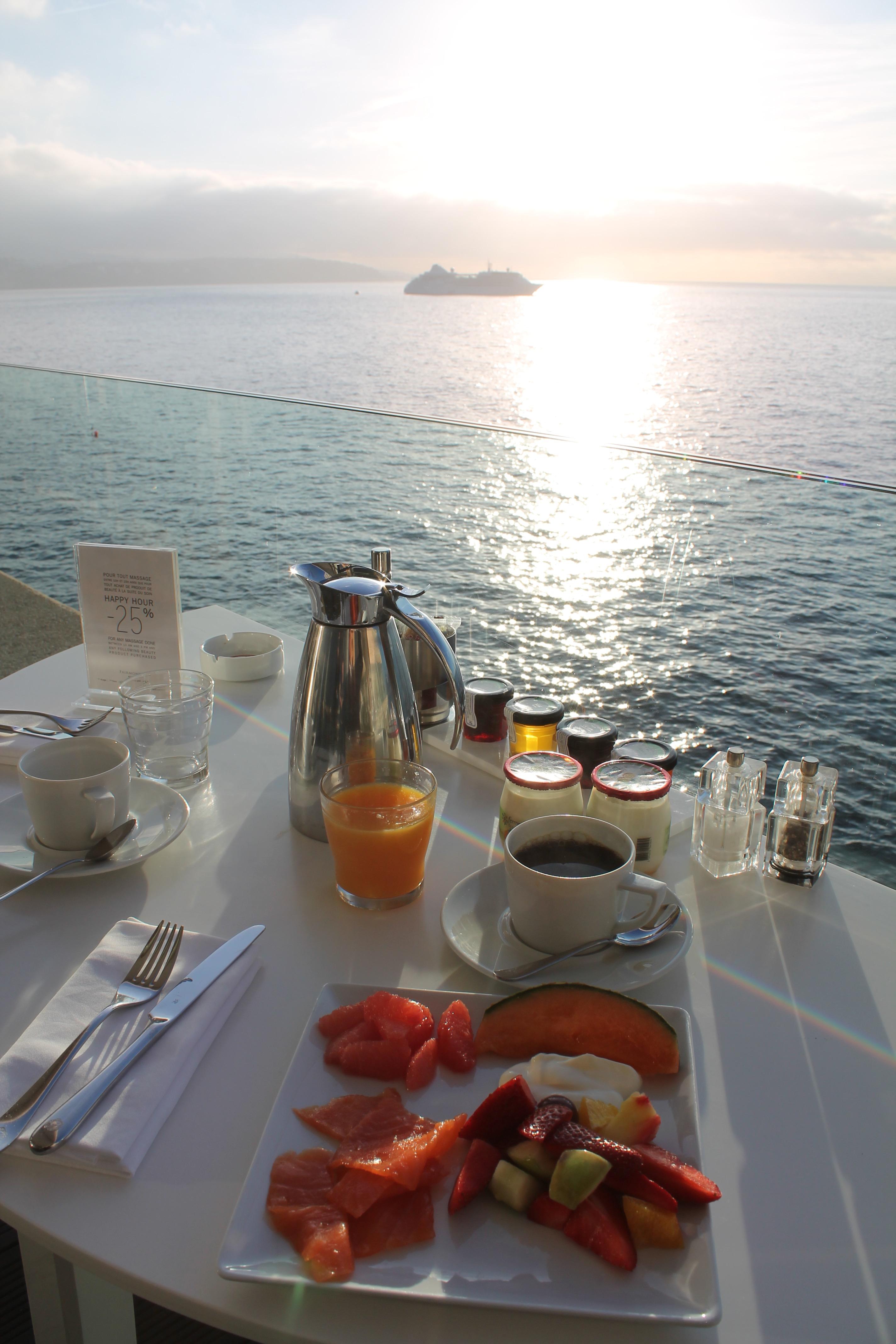 Breakfast At Nobu Fairmont Montecarlo