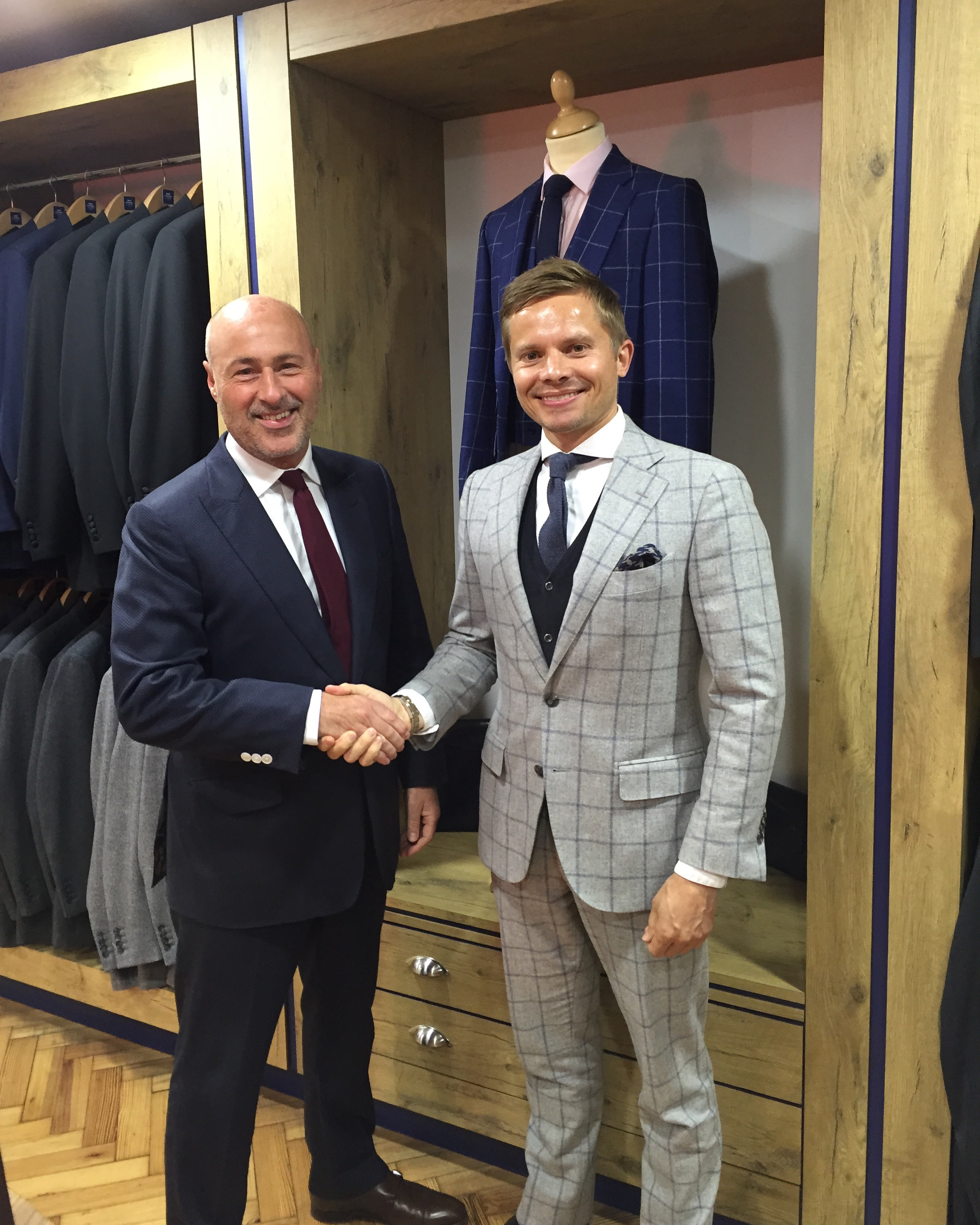 I Visit Savile Row And Meet Ray Stowers Lifestyle Tailor To The Stars