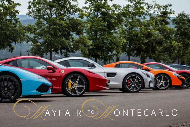 Mayfair To MonteCarlo Supercar Tour! WOW!