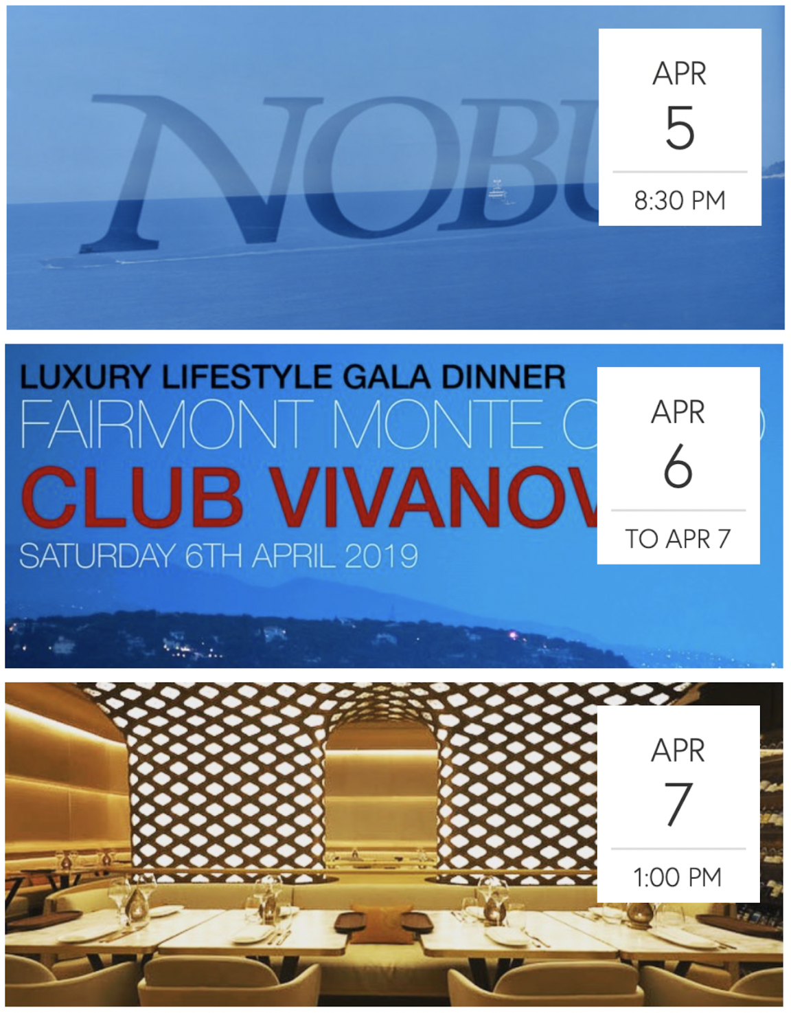 A Gourmet Gala Weekend With Club Vivanova