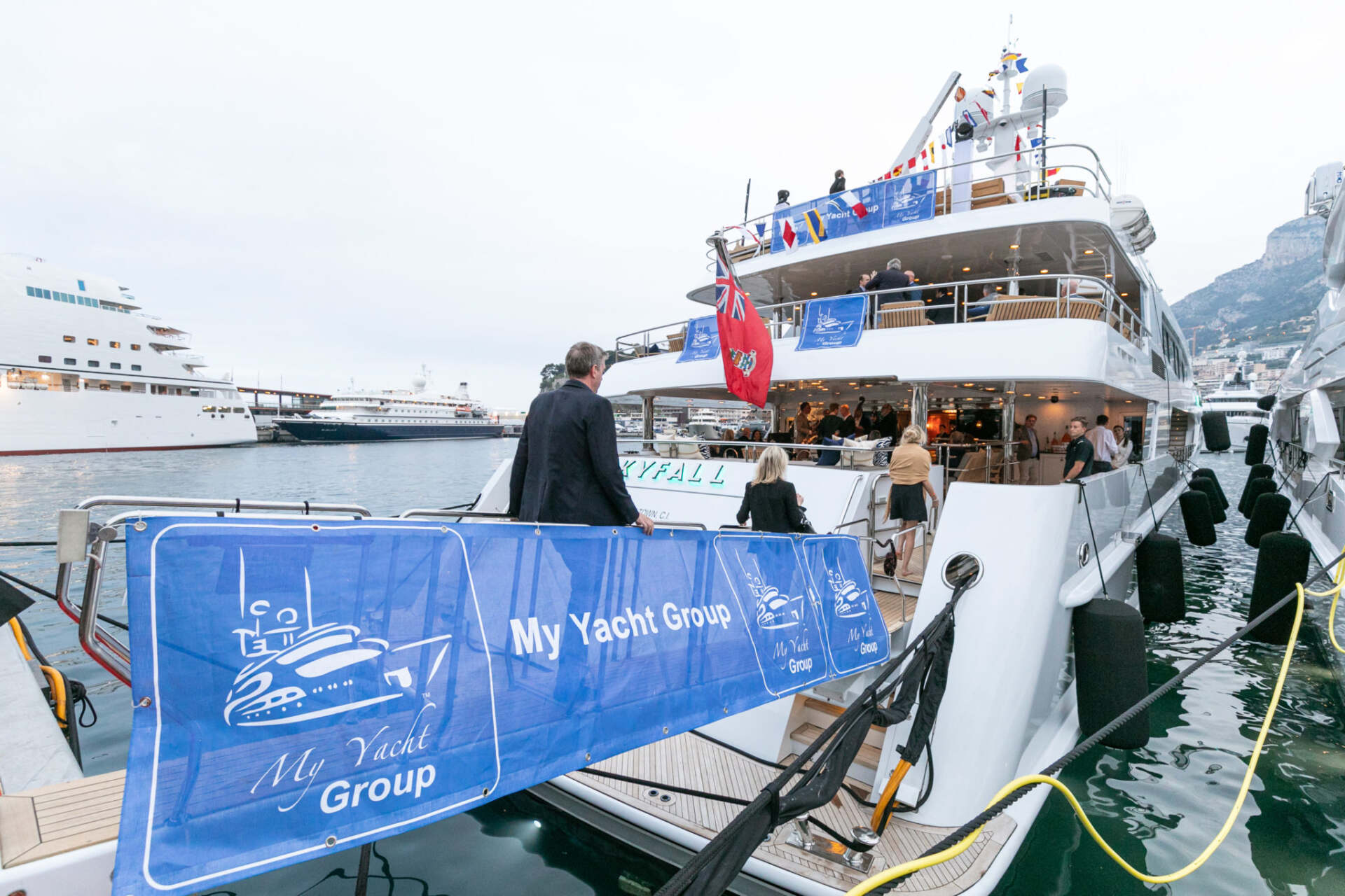 An Out-Of-This-World Weekend At The 77th Monaco F1® With My Yacht® Group