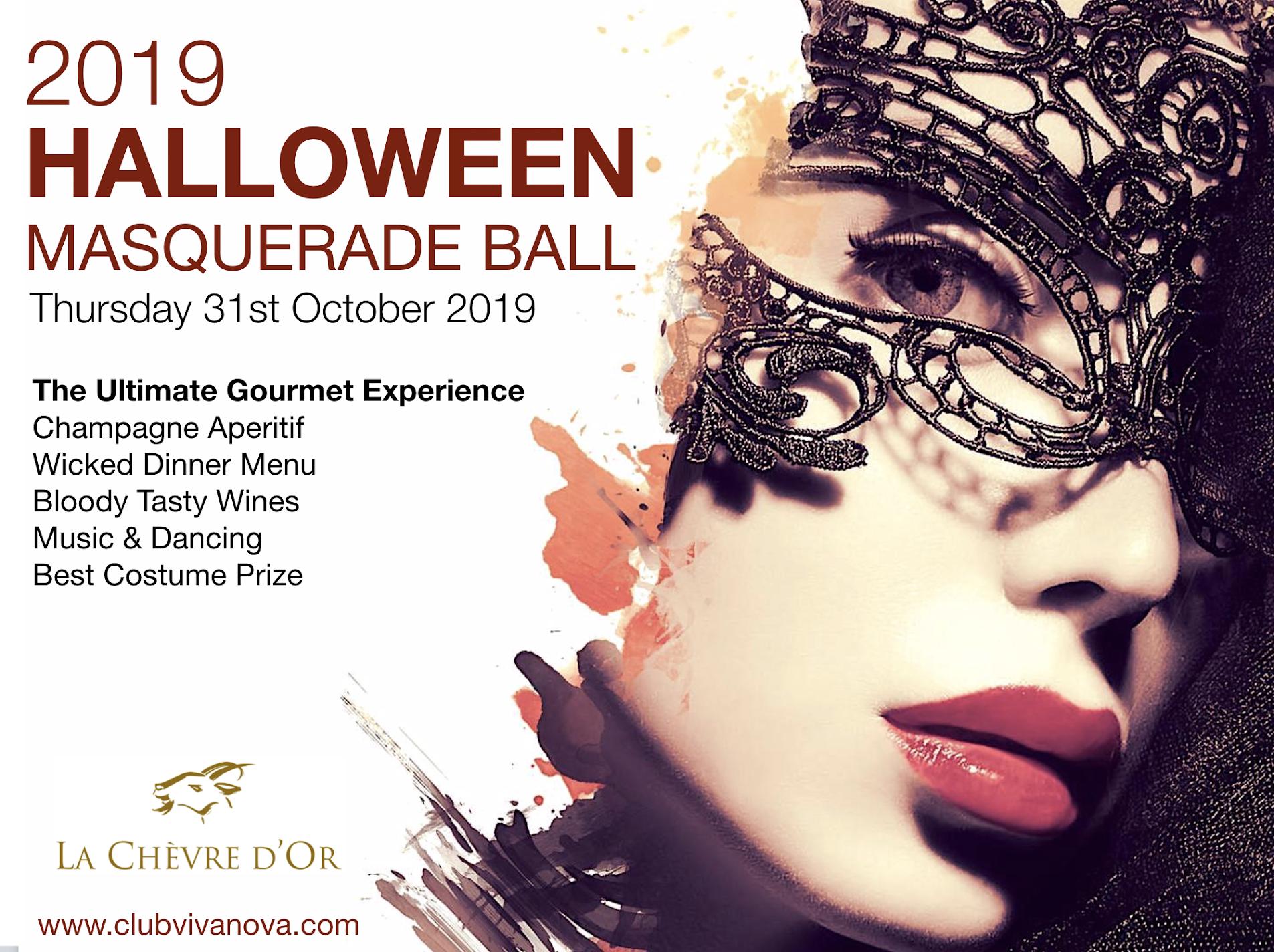 ÉZE The 2019 Halloween Masquerade Ball